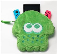 کیف نینتندو سوییچ  Nintendo Switch SPLATOON 2 SQUID STUFFED POUCH