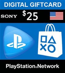 PSN امریکا 25 دلاری PlayStation Network