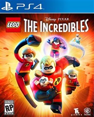 بازی LEGO  The Incredibles برای PS4