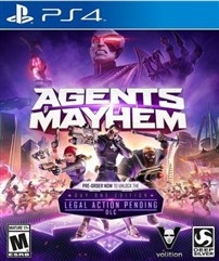 نسخه RETAIL بازی Agents of Mayhem برای PS4