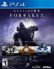 مجموعه بازی DESTINY 2 FORSAKEN LEGENDARY COLLECTION برای PS4