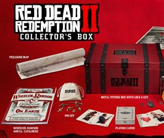 نسخه کالکتور RED DEAD REDEMPTION 2 COLLECTORS BOX