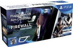 باندل تفنگ و بازی PS4 PS VR Aim Controller Firewall Zero Hour Bundle