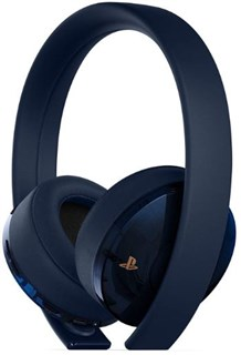هدست گلد PS4 مدل Gold Wireless Headset 500 Million Limited