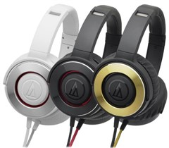 هدفون Audio-Technica ATH Solid Bass WS550iS