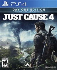 نسخه Day One Edition  بازی  Just Cause 4 برای PS4
