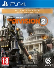 نسخه گلد  بازی Tom Clancys The Division 2 Gold Edition  برای PS4