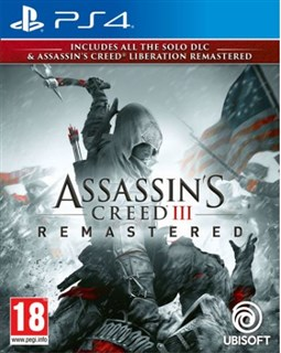 نسخه  Remastered   بازی Assassins Creed III برای PS4