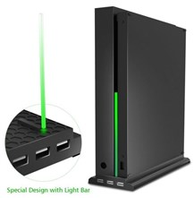 استند اورجینال سه کاره VERTICAL STAND WITH FAN AND HUB XBOX ONE X