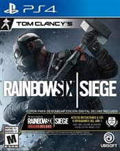 ریجن آل نسخه  Deluxe Edition  بازی Tom Clancys Rainbow Six Siege برای PS4