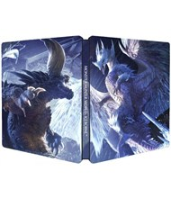 نسخه استیل بوک MONSTER HUNTER WORLD ICEBORNE STEELBOOK
