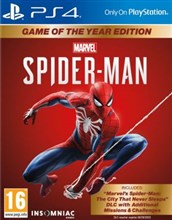 نسخه GOTY  بازی انحصاری Marvel Spider-Man  برای PS4