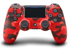 دسته بازی PS4 مدل Sony DualShock 4 Wireless Controller Red Camouflage