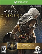 نسخه GOLD بازی  Assassins Creed Origins  برای XBOX ONE