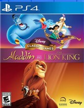 بازی Disney Classic Aladdin and The Lion King برای PS4