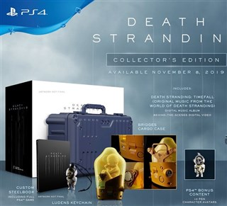 نسخه کالکتور Death Stranding PlayStation 4 Collectors Edition