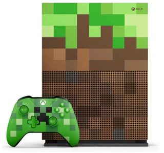 کنسول بازی  باندل Xbox One S Minecraft Limited Edition Bundle