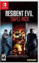 نسخه کالکشن بازی Resident Evil Triple Pack - Nintendo Switch