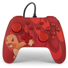 دسته بازی سوییچ  PowerA Nintendo Switch Controller Blazing Charmander Edition