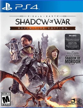 ریجن امریکا نسخه Shadow of War Definitive Edition  برای PS4