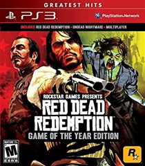 نسخه GOTY بازی Red Dead Redemption greatest hits برای PS3
